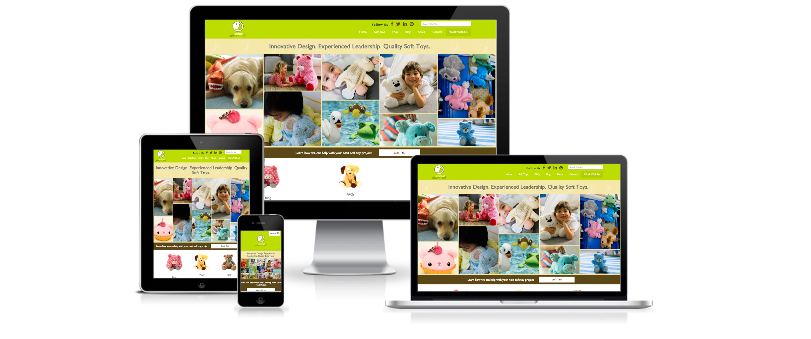 HubSpot Website Design for Animal Adventure - Created By Spoke