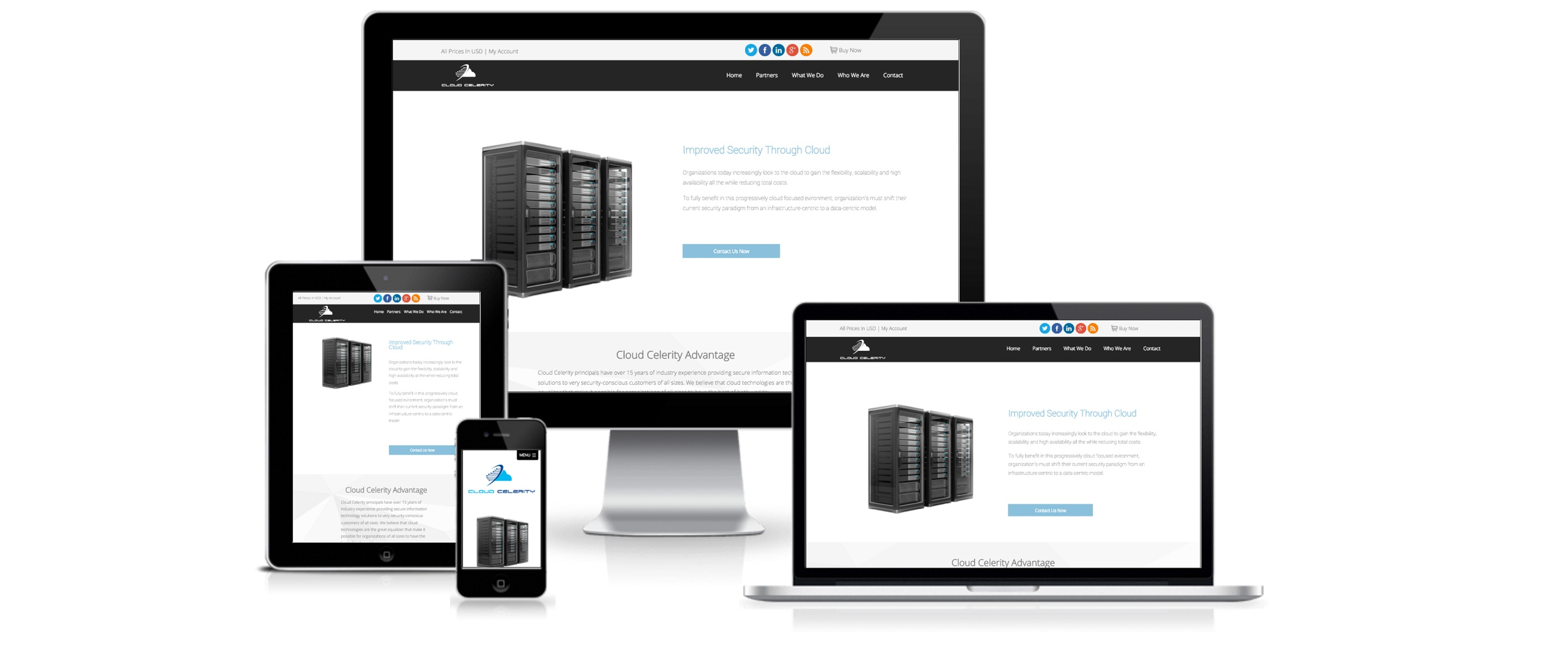 HubSpot Website Design for Cloud Celerity - by Spoke