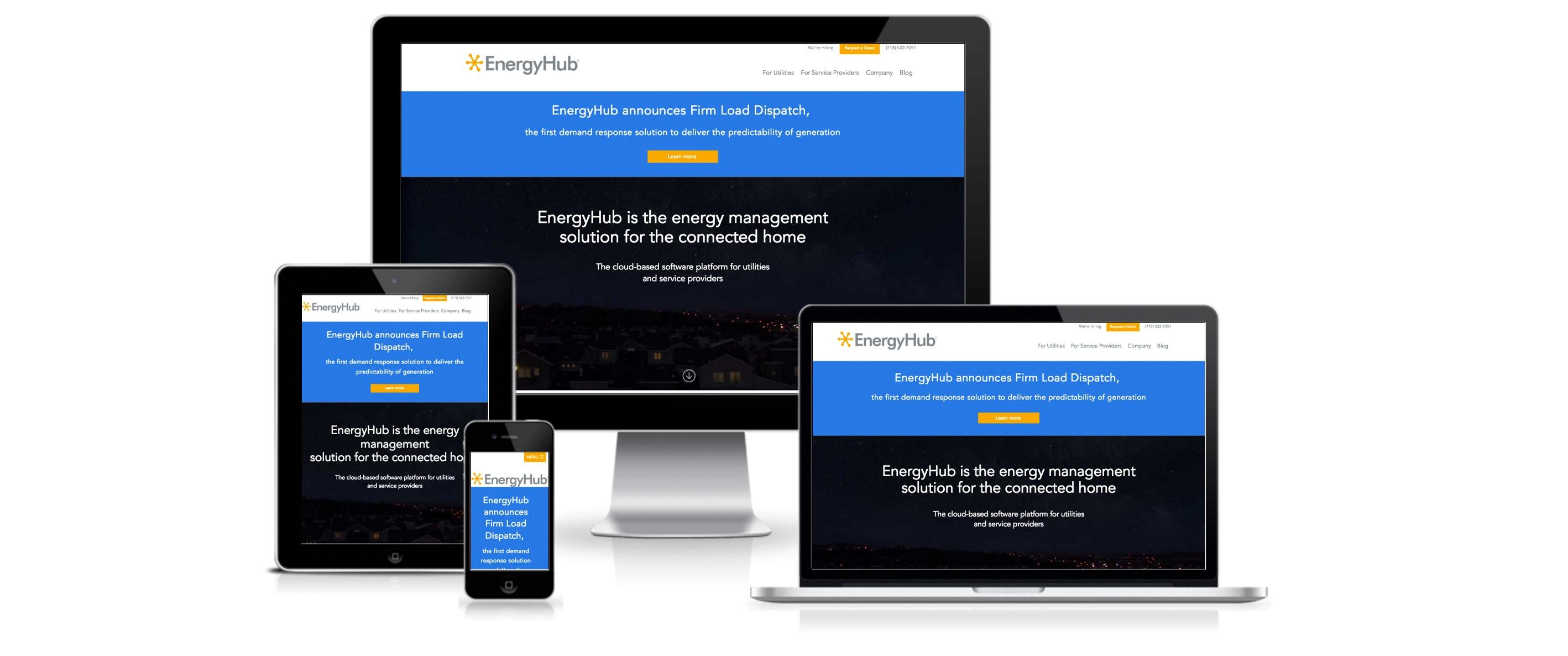 HubSpot Website Design for EnergyHub - Created By Spoke