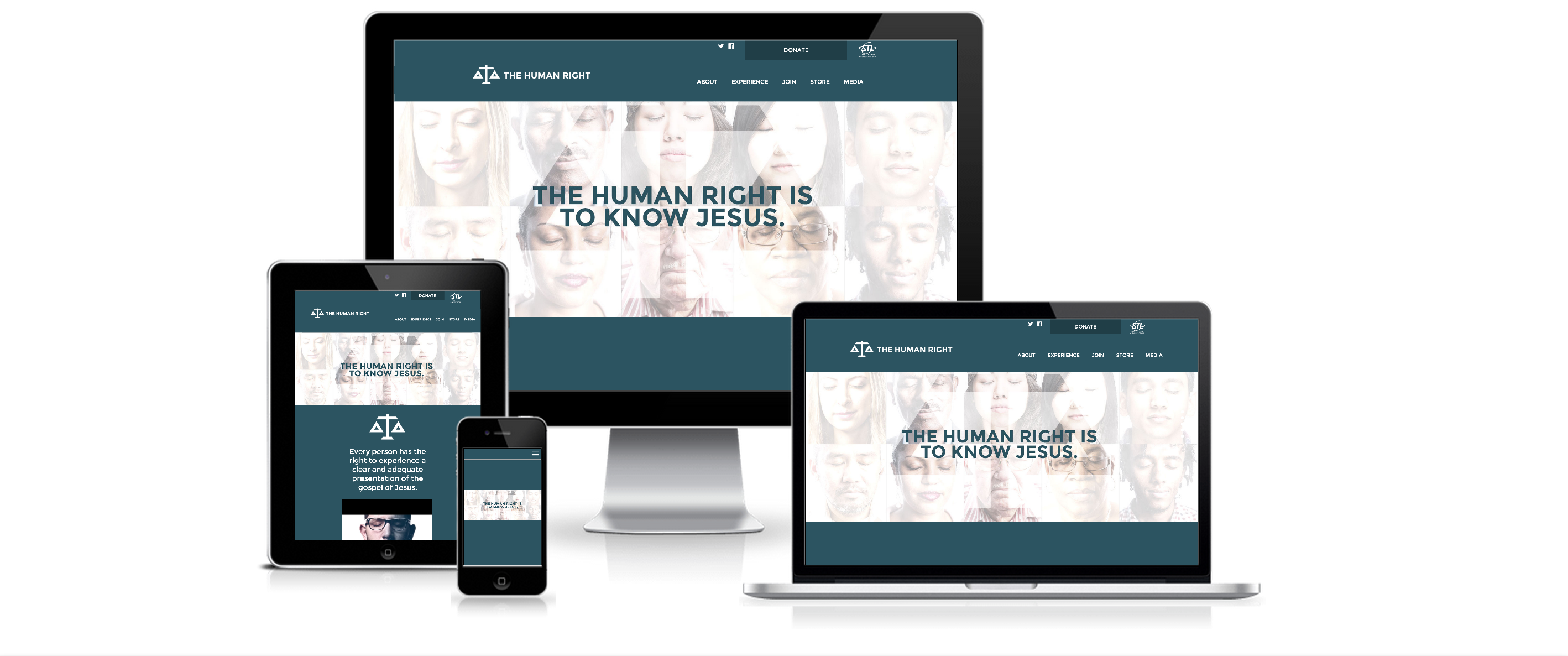 HubSpot Website Development for The Human Right - Created By Spoke